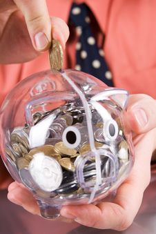 Free Piggy Bank Royalty Free Stock Photo - 9866485