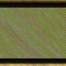 Grunge Hazard Borders Stock Image