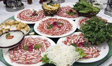 Free Main Dish Of Chinese Hot Pot Royalty Free Stock Photography - 9867337