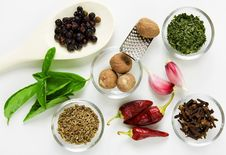 Free Spices Royalty Free Stock Image - 9867566