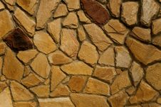Free Stone Wall Texture Stock Photography - 9867582