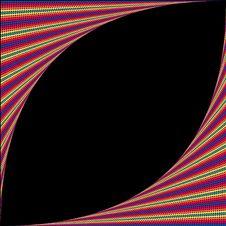 Rainbow Wrap Almomd Stock Image