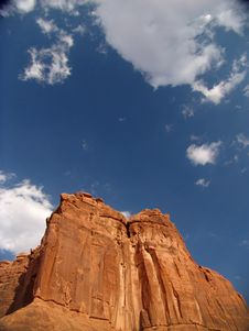 Free Arches National Park Royalty Free Stock Images - 9868399