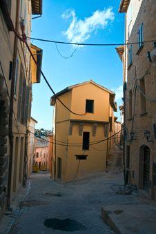 Ruins Of Nocera Umbra Stock Images