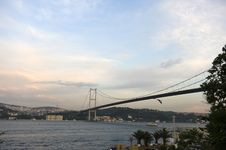 Free Bosporus Bridges, Istanbul, Turkey Stock Photos - 9868963