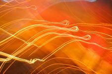 Free Orange And Red Motion Royalty Free Stock Photo - 98610055