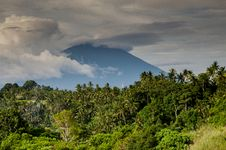 Free Balinese Vulcano Stock Photography - 98656542