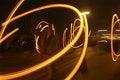 Free Trajectory Rotating Lights Royalty Free Stock Photos - 9871518