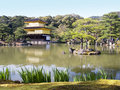Free Gold Temple And Lake Stock Photography - 9873072