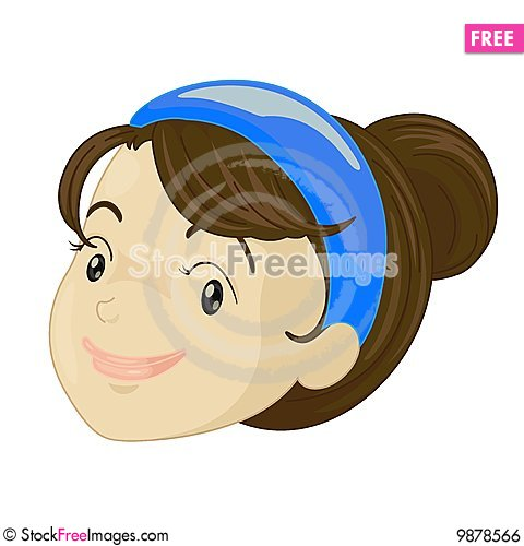 Free Girl Face Royalty Free Stock Image - 9878566