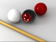 Free Billiard 1 Stock Photo - 9871550