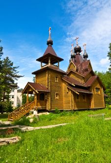 Free Wooden Church Royalty Free Stock Photography - 9873017