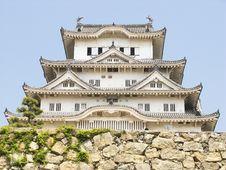 Free Himeji Castle Main Building Stock Image - 9873201