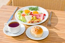 Free Served Breakfast Stock Photo - 9873340