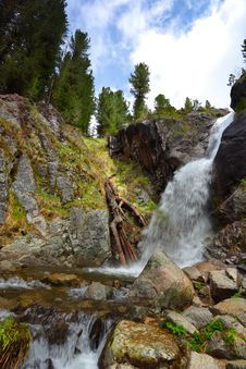 Free Waterfall Royalty Free Stock Photography - 9874427