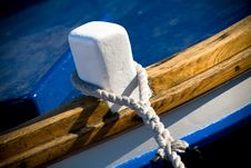 Free Tied Boat Stock Photo - 9874670