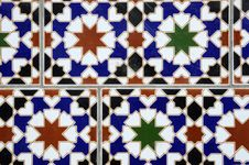 Arabic Tile Royalty Free Stock Photo