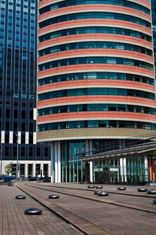 Free Business Centres Of Rotterdam Royalty Free Stock Photo - 9875605