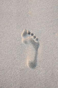 Free Footprint Stock Photos - 9876203