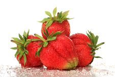 Free Strawberry. Royalty Free Stock Image - 9876256