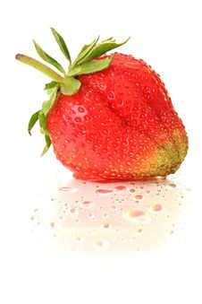 Free Strawberry. Royalty Free Stock Images - 9876299