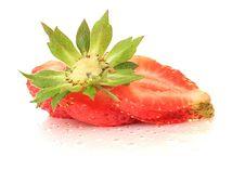 Free Strawberry. Stock Image - 9876311