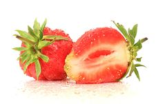 Free Strawberry. Royalty Free Stock Photo - 9876335