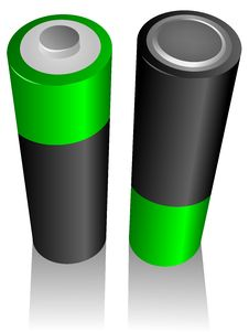 Free Batteries Stock Image - 9876451