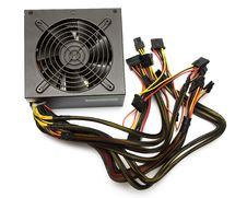 Free Computer Power Supply Unit Stock Photography - 9876672