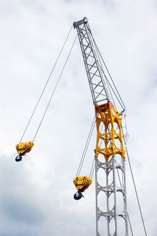 Free Steel Crane Stock Images - 9876964