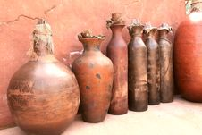 Free Clay/tone Container Stock Photography - 9876982