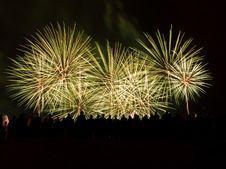 Firework Blast Royalty Free Stock Photography