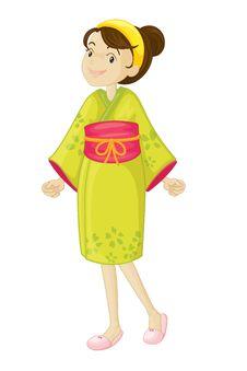 Free Japanese Girl Stock Image - 9878581