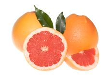 Free Fresh Grapefruits Royalty Free Stock Photo - 9879345