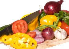 Free Fresh Vegetables Stock Image - 9879541