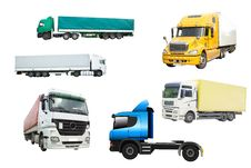 Free Several Trucks Stock Photography - 9879892
