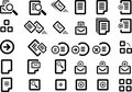 Free Vector Icon Set Royalty Free Stock Photo - 9880045