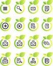 Free Vector Icon Set Stock Image - 9880051
