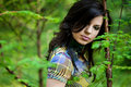 Free Girl In A Forest Stock Photos - 9882613