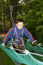 Free Boy Climbing Stock Photography - 9888352