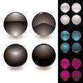 Free Four Button Variation Stock Photo - 9889920
