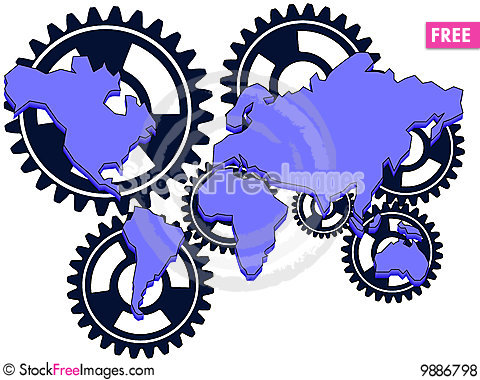 Interrelation Stock Photo