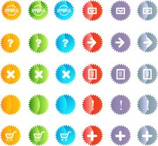 Free Vector Buttons Stock Photos - 9880043