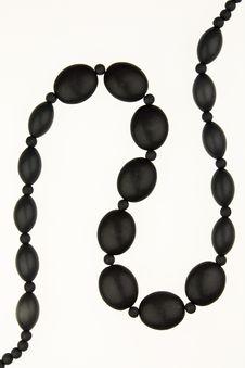 Free Black Stone Chain Royalty Free Stock Photo - 9880505