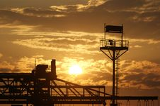 Free Industrial Sunrise Stock Images - 9881904