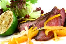 Free Steak Royalty Free Stock Photo - 9882005