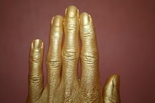 Free Gold Hand Stock Photos - 9882203