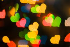 Free Heart Background Stock Photography - 9882782