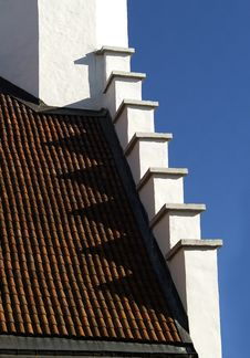 Free Ancient Roof Detail Royalty Free Stock Photo - 9884105