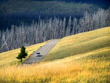 Free Car Drive On Country Stock Photos - 9885243